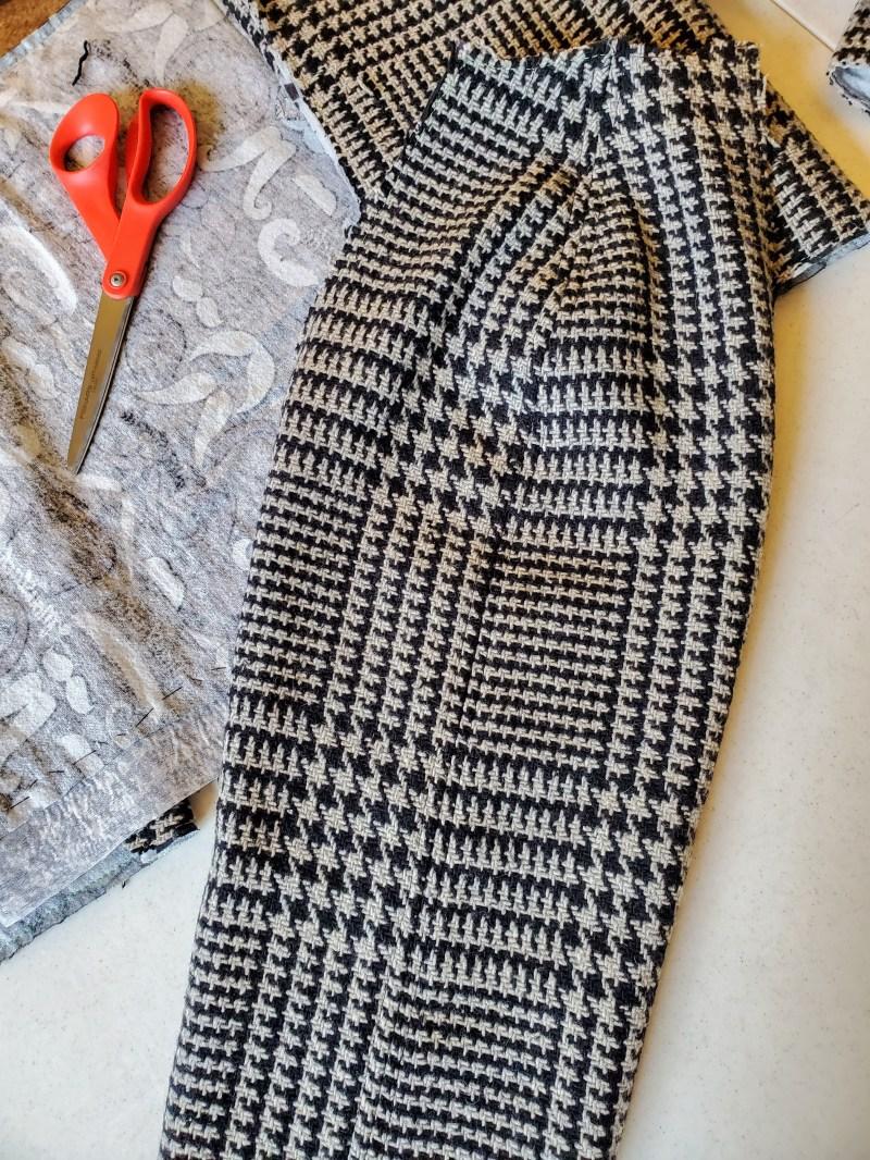 sewn sleeve