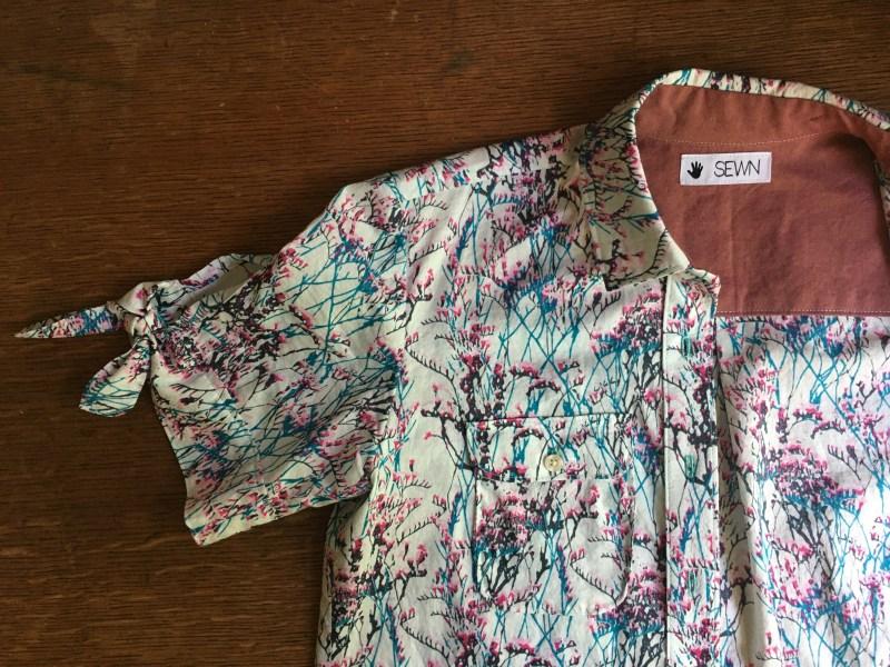 Flat shirt