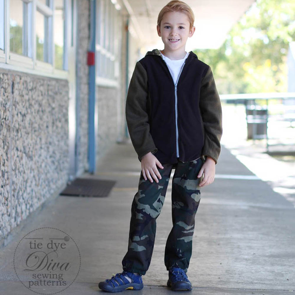 Back to School for Boys: Sturdy Pants and a Zip Hoodie