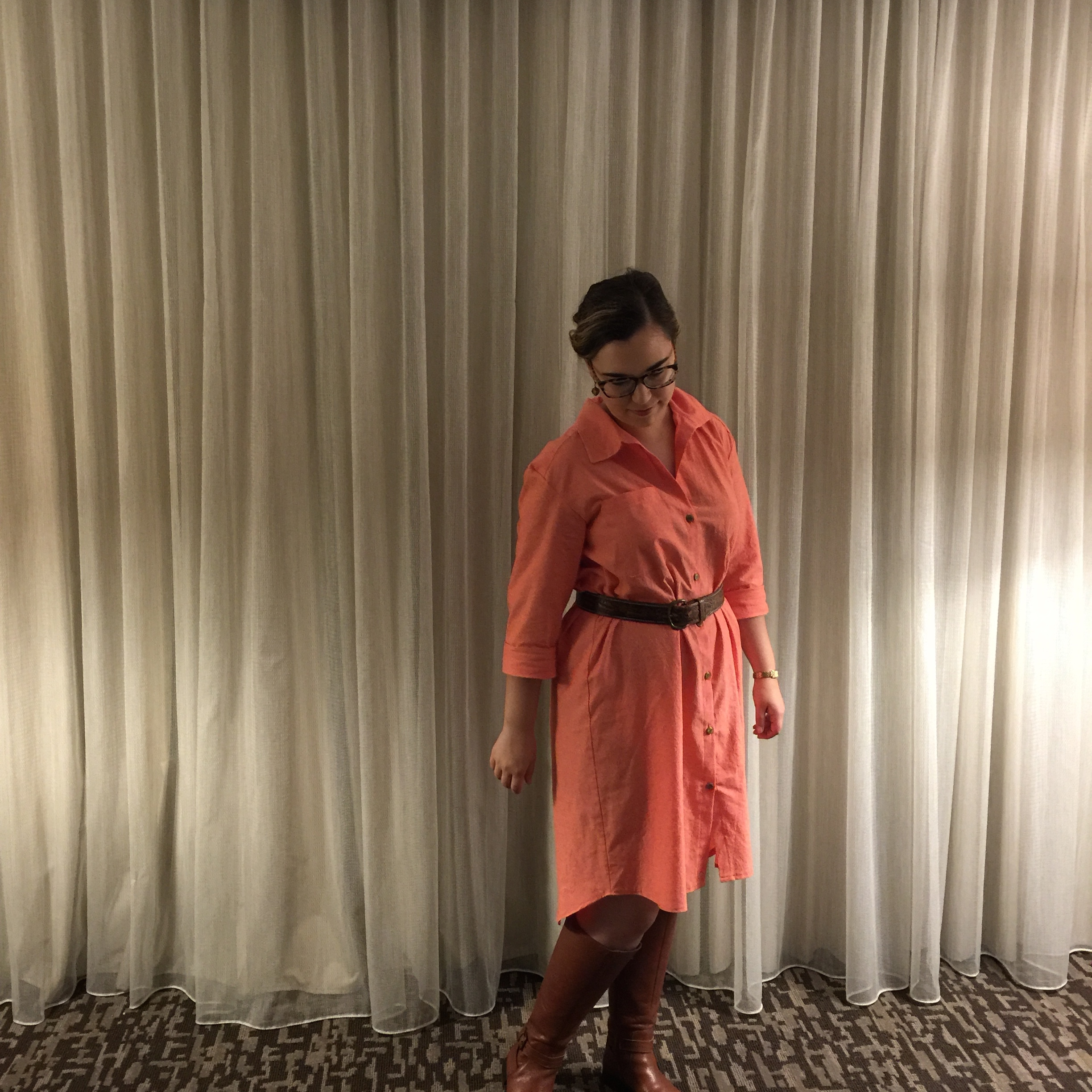 A Shirtdress for All Seasons