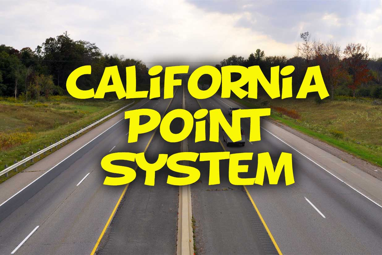 California Point System - https://california-dmv-practice-test.org
