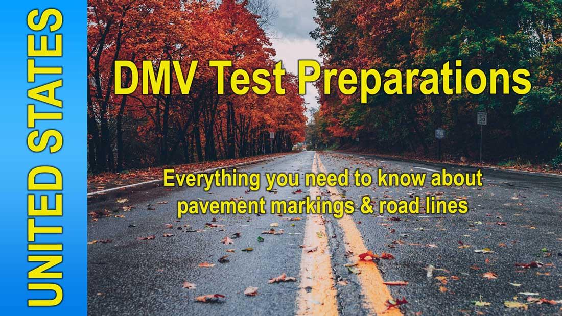 Video: DMV Test Road Markings by driversprep.com
