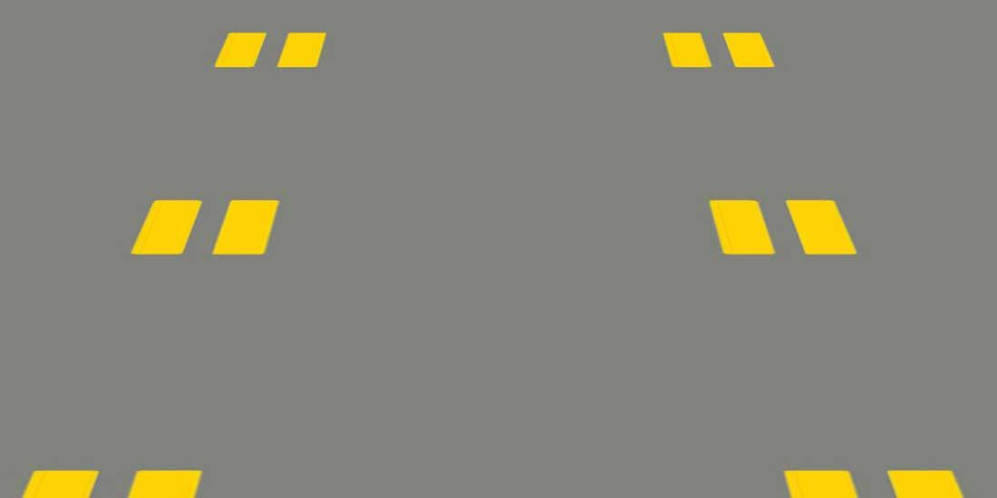 Pavement Markings: Reversible Lane