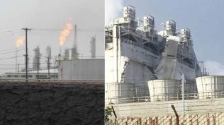 refinery, mobil, explosion, torrance, exxon,