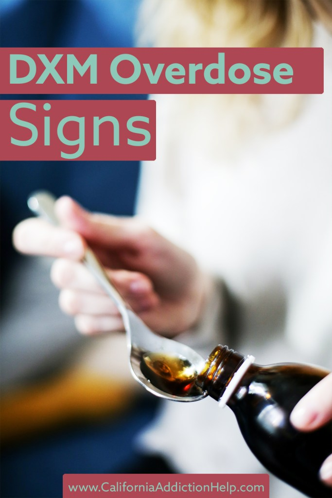 DXM overdose signs