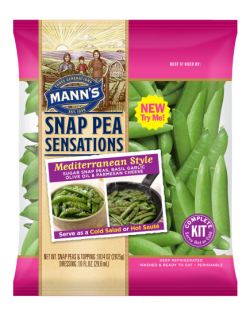 Mann's Snap Pea Sensations Kits Wins Award
