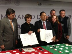 Secretary Ross Signs Landmark Trade Agreement