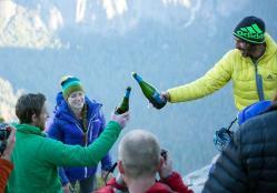 El Capitan Achievement Celebrated with California Sparkling Wine