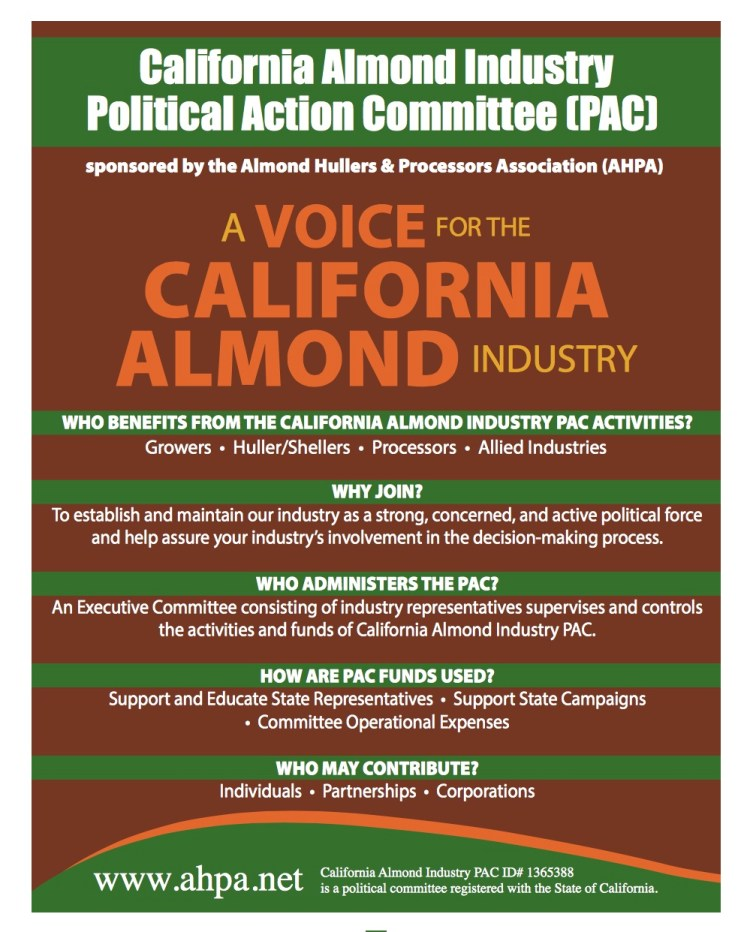 California Almond Industry Political Action Committee
