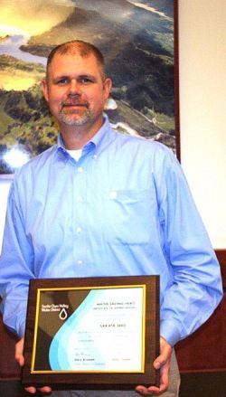 Sakata Seed America Awarded Title of 'Water Saving Hero'