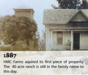 HMC Farms,1887 (Source: HMC Farms)