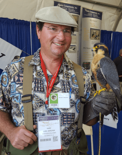Falcons Work in Agriculture, Too