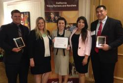 PC: Fresno State Jordan College of Agricultural Sciences and Technology Collegiate Team Award Winners (2016)