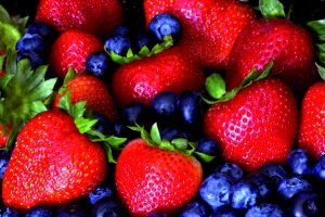Stockton photo Strawberries & Blueberries beautiful!