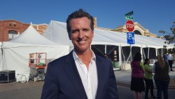 Lt. Governor Newsom Supports Calif. Agriculture