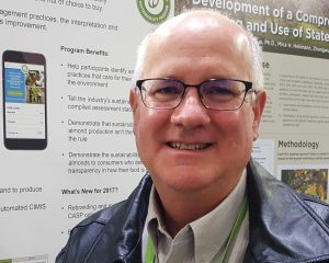 Joe Browde, of Sure Harvest, Heads up the Almond Sustainability Program for the Almond Board of California