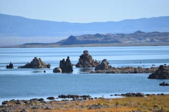 Mono Lake - on the Eastern side of the California Alps