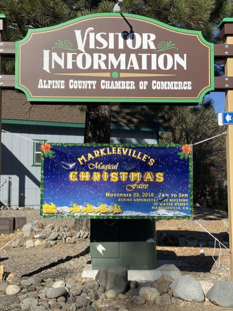 Magical Markleeville Christmas Faire Banner
