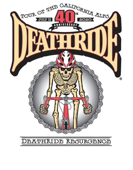 deathride_40th anniversary logo_deathride resurgence