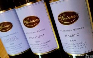 bottle of wine dilorimier