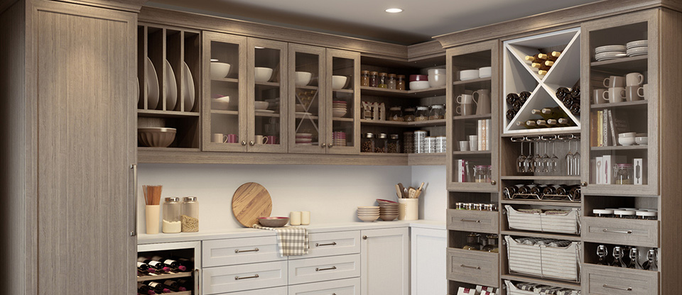 Organize Your Kitchen With Pantry Storage Ideas California