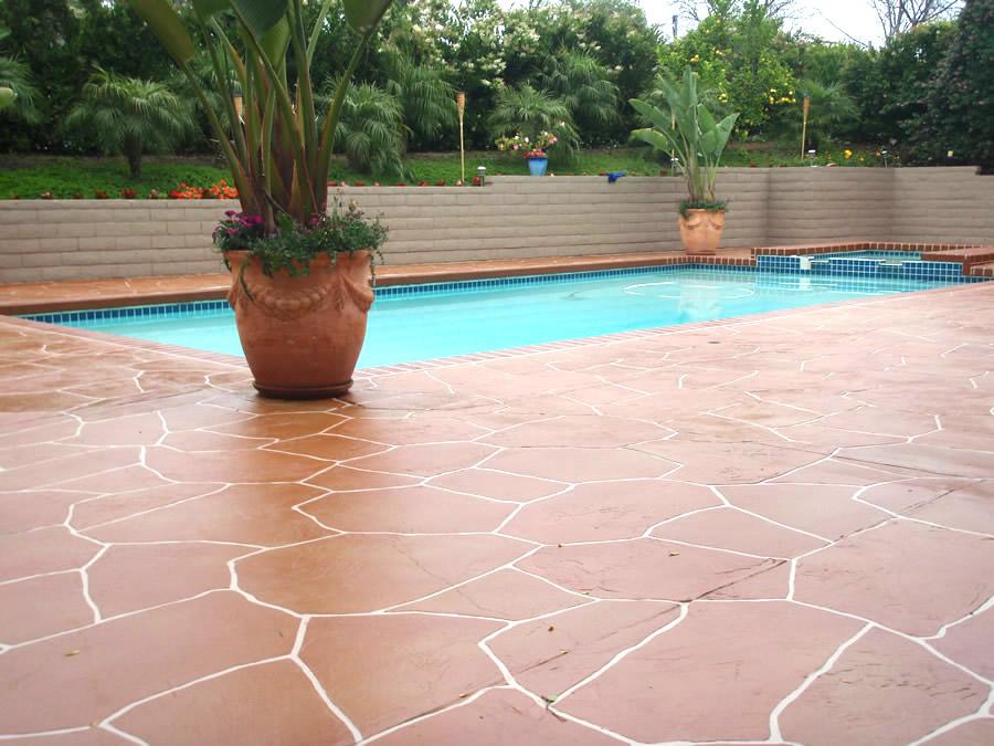 Pool Deck Resurfacing California Deck Company Orange