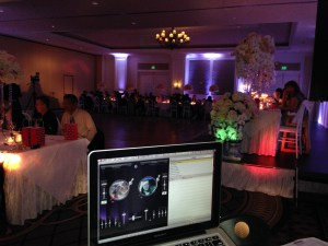 Half Moon Bay Reception DJ Dinner Ritz Carlton Wedding