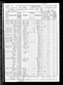 Bell, William C. 1870 Census 1
