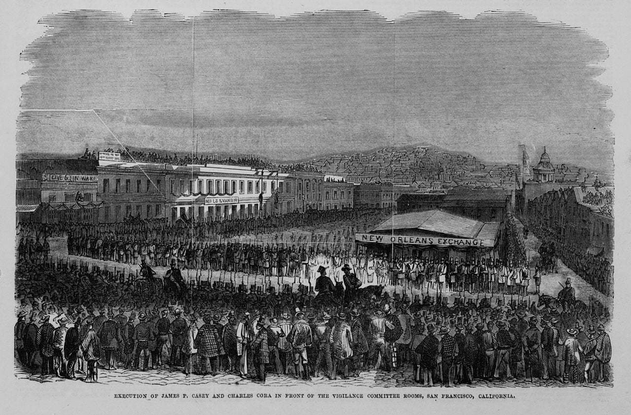 Hanging of James P. Casey and Charles Cora