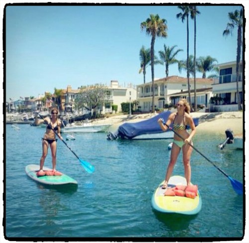2016Apr-AnneKathrinPaddleBoard