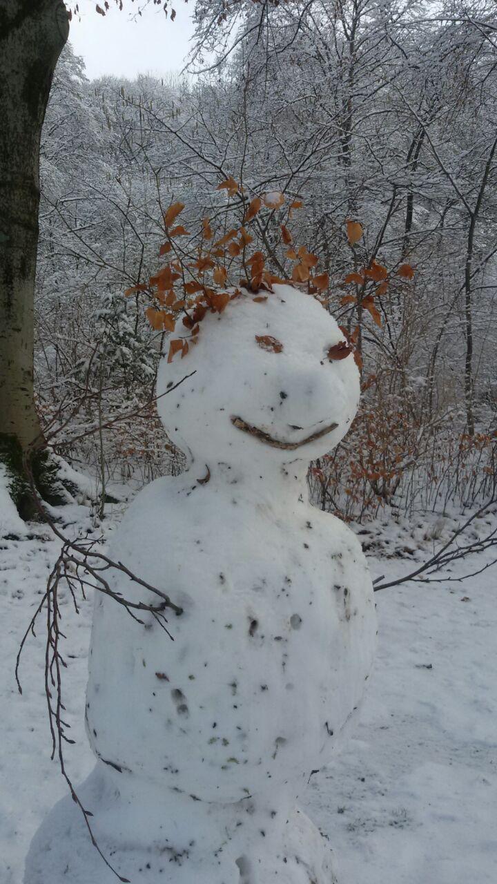Snowman Munich ©CaliforniaGermans
