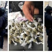 Los federales interceptaron a narcomenudistas en la calle