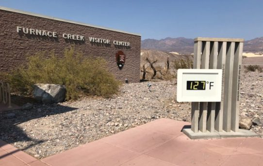 Death Valley Experiences Its Hottest Month on Record