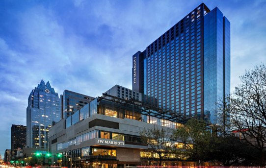 Welcome to Austin... and the Texas-Sized JW Marriott