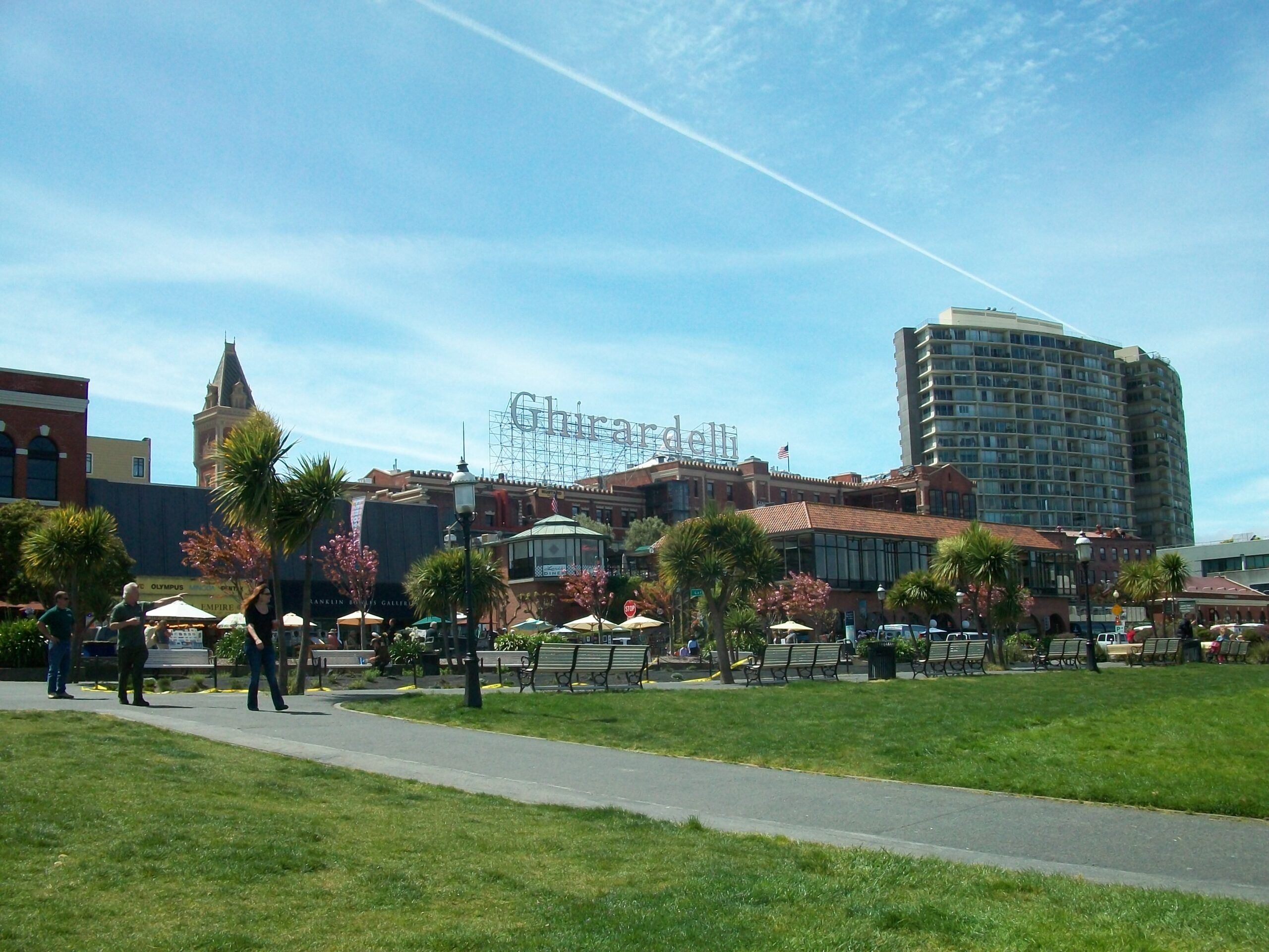 Ghirardelli Square in San Francisco, California