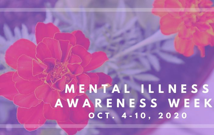 Mental Illness Awareness Week 2020 graphic