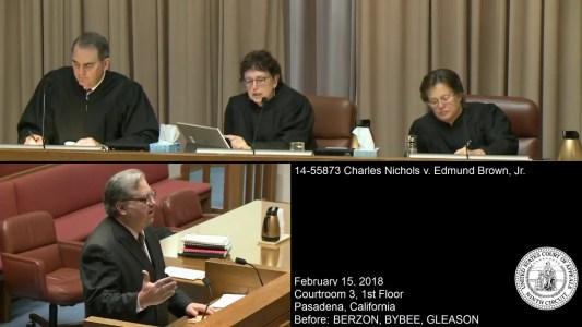 Nichols v. Brown Oral Argument Still