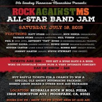 Rock Against MS All Star Benefit Red Balls Rock 'n Roll Pizza, Moorpark, CA 7/18/2015