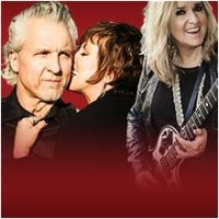 Pat Benatar and Neil Giraldo with Melissa Etheridge at The Greek Theater Los Angeles CA