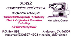 Katz Computer Services and Equine Design