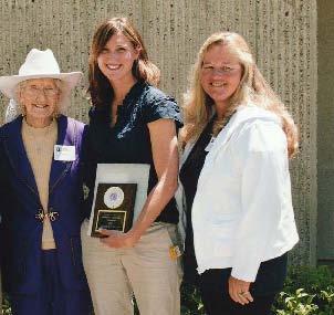 2011 Scholarship Winner Anne Williams