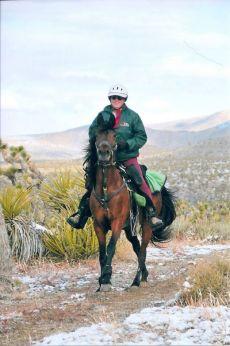 Bob Bischoff and Kenlyn Destiny Eastern Mojave Scenic Pioneer 2012