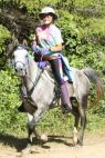 Dorothy Foster and Allure 2010 Redwood Ride