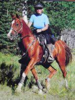 "Karen Fredrickson and Mrr Pyro AKA ""Murphy"" Bryce Canyon 2009"
