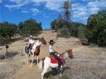 Region 18 Royalty Poker Ride Krystlynn Bishop and Mary Homciz On the Weaver Basin Trail