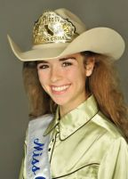 McKensey Middleton as Region 4 Miss CSHA
