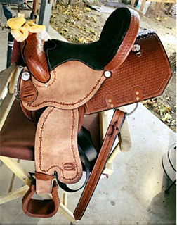 Joanne Galbraith Barrel Saddle