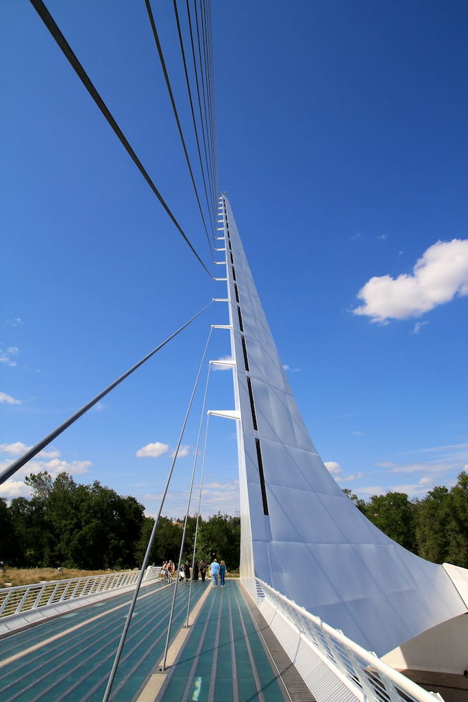 Sundial Bridge In Redding California Through My Lens