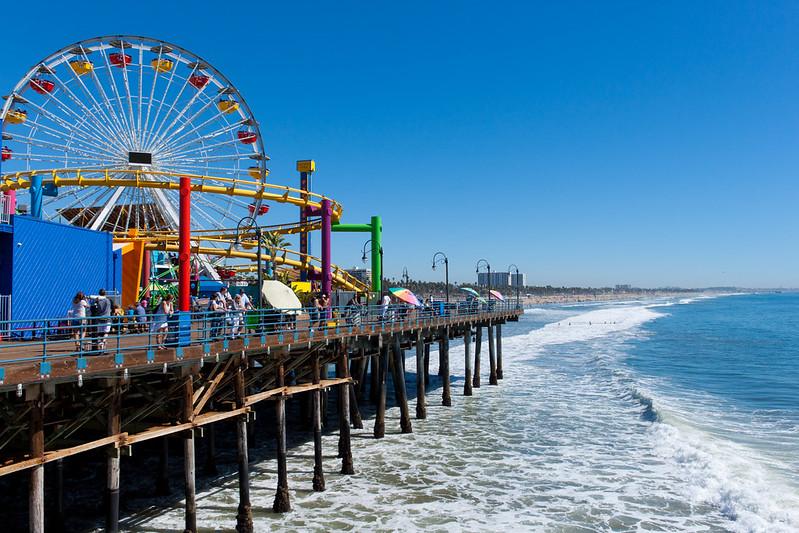 California Landmark Santa Monica Pier