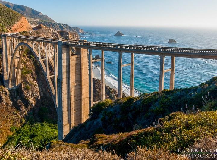 The Bixby Bridge in Big Sur is a California Landmark